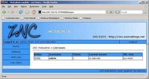 znc webadmin